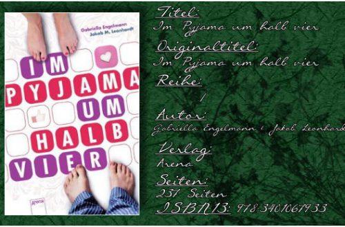 Gabriella Engelmann & Jakob Leonhardt - Im Pyjama um halb Vier