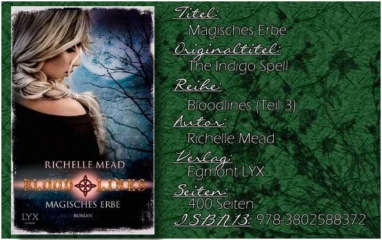 Vampire Academy: Bloodlines 03 - Magisches Erbe von Richelle Mead
