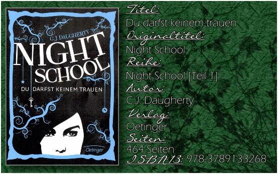 Night School 01 - Du darst keinem trauen von C.J. Daugherty