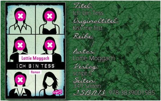 Ich bin Tess von Lottie Moggach