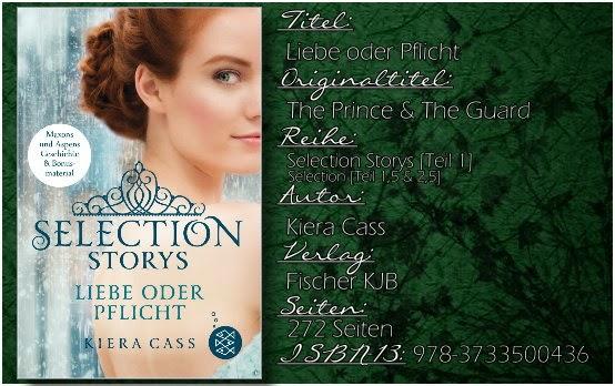 Selection Storys 01 - Liebe oder Pflicht von Kiera Cass