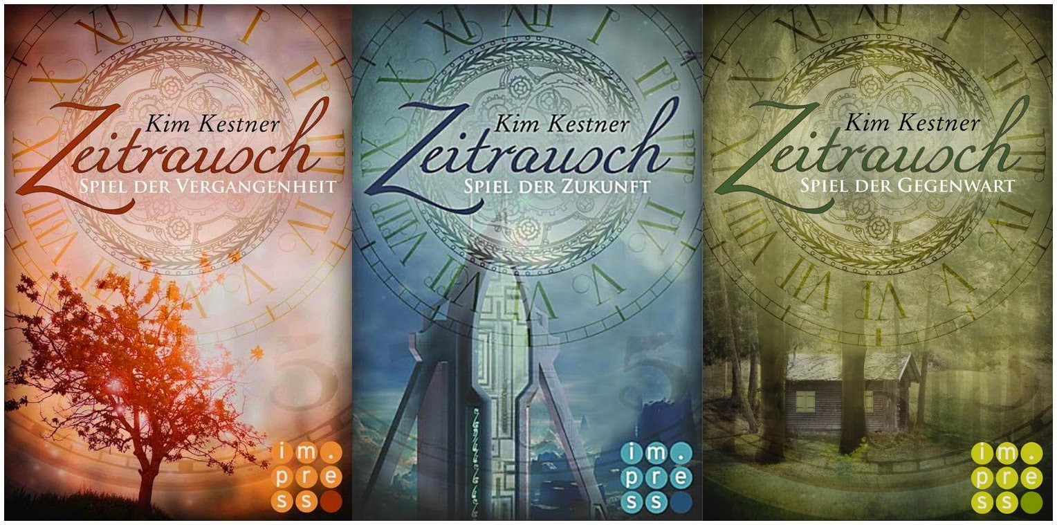 Zeitrausch-Trilogie von Kim Kestner - Carlsen Cover