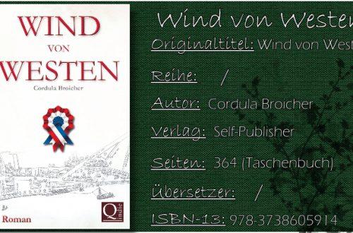 Wind von Westen von Cordula Broicher