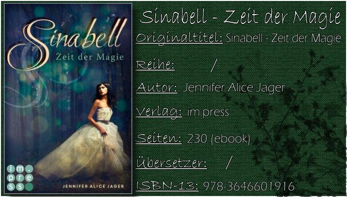 Sinabell - Zeit der Magie von Jennifer Alice Jager