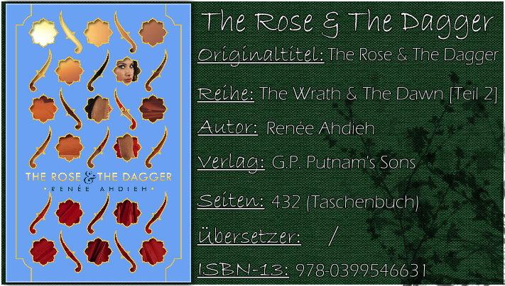 The Rose & The Dagger (The Wrath & The Dawn 02) von Renée Ahdieh