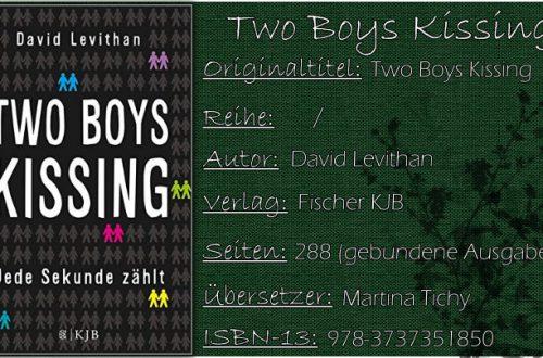 Two Boys Kissing - Jede Sekunde zählt von David Levithan