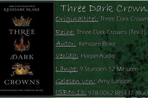 Three Dark Crowns von Kendare Blake