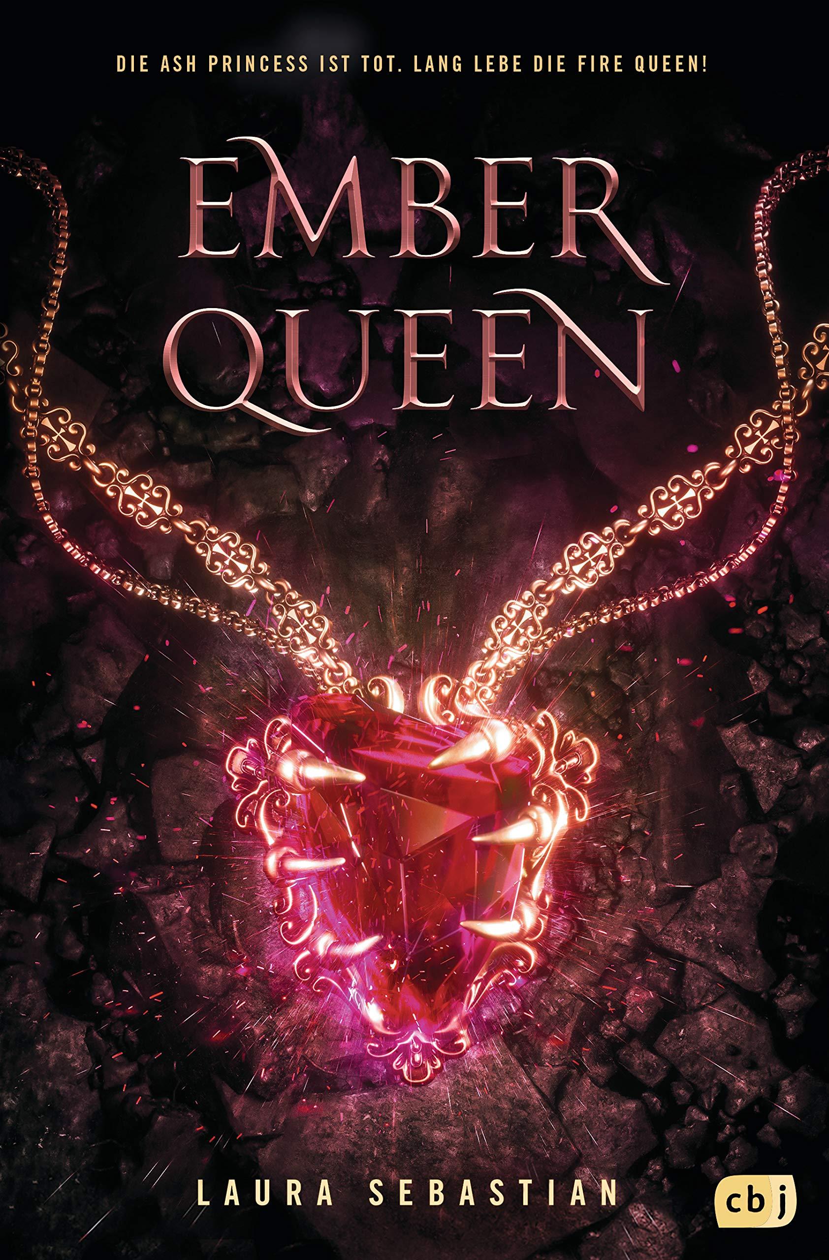 Ember Queen von Laura Sebastian (deutsches Cover)