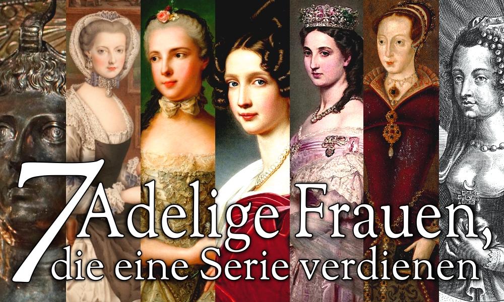 Titelbild adelige Frauen