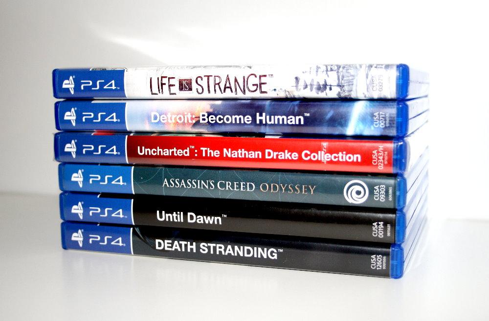 Übersicht Playstation 4 Spiele