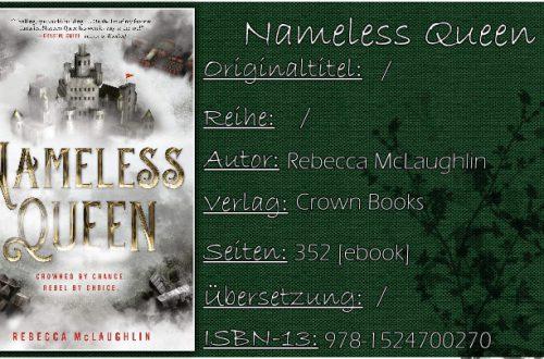 Nameless Queen von Rebecca McLaughlin