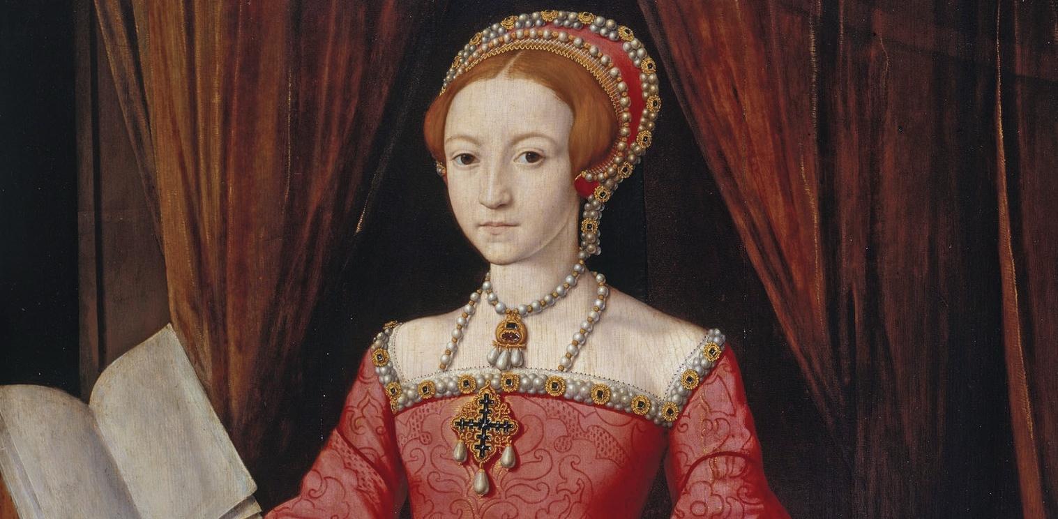Elizabeth I als 13-jährige