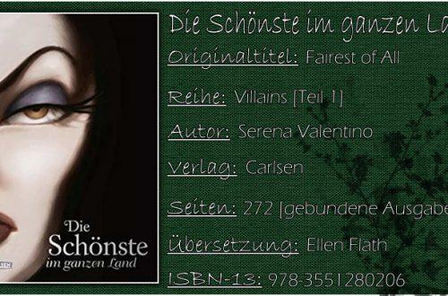 Disney Villains 01 - Die Schönste im ganzen Land (Fairest of All German Edition) von Serena Valentino