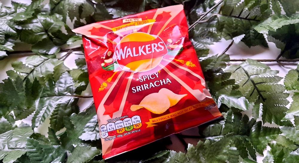 Walker Spicy Sriracha Chips