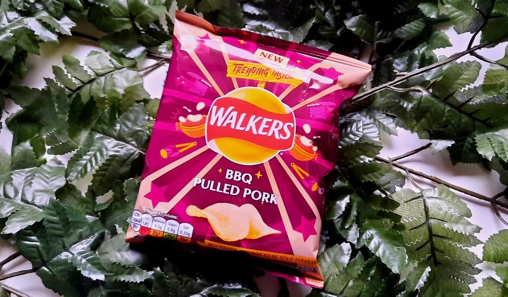 Walkers BBQ Pulled Pork Chips