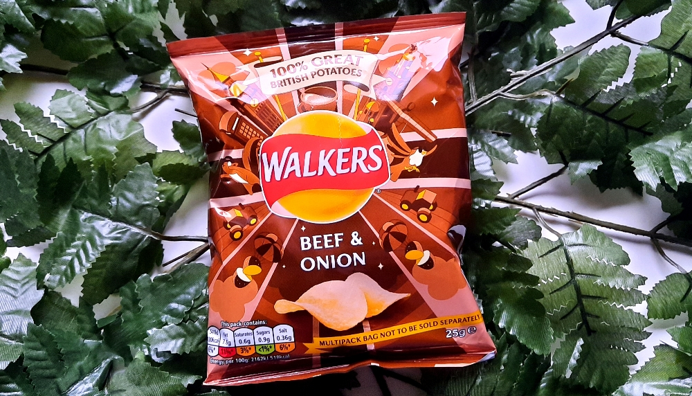 Walkers Beef & Onion Chips