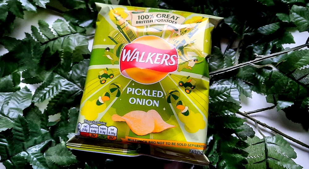 Walkers Pickled Onion Chips