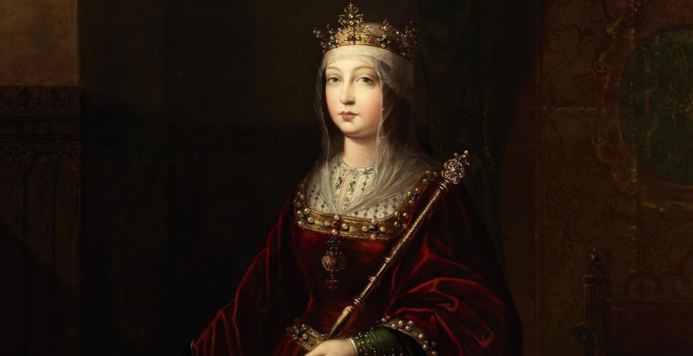 Isabella von Kastilien [Porträt aus dem 19. Jahrhundert]