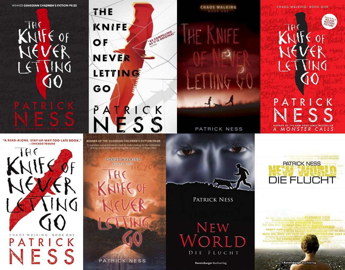 """""""Chaos Walking 01 - The Knife of Never Letting Go"""" ist """"New World 01 - Die Flucht"""" von Patrick Ness"""
