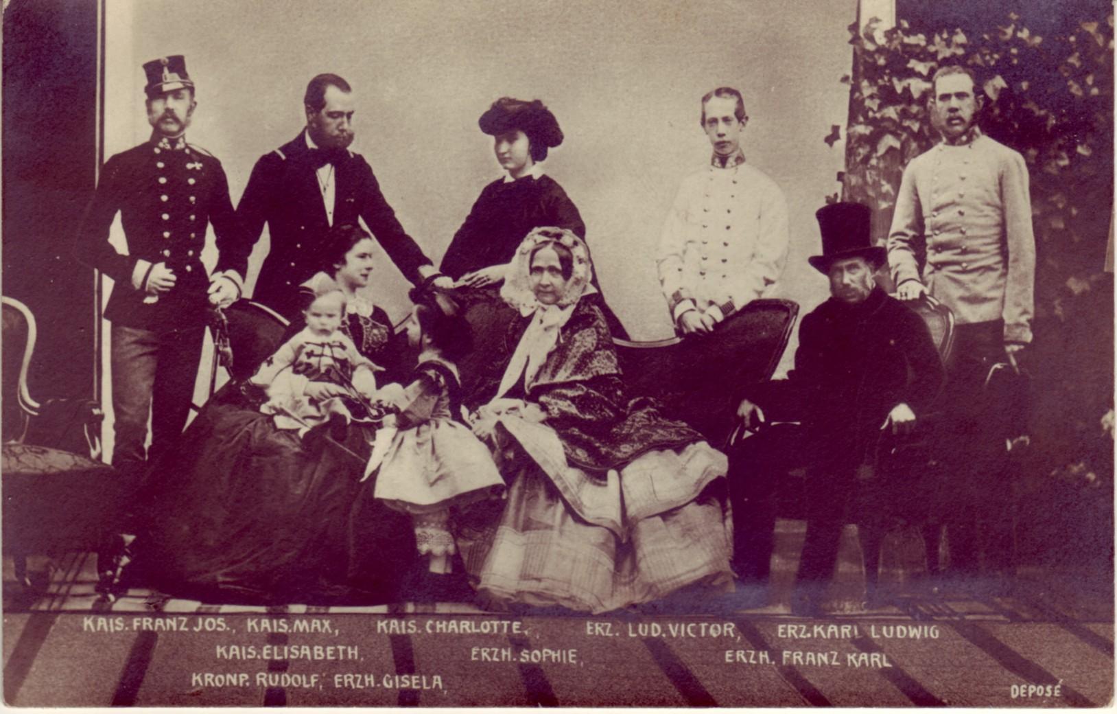 Erzherzogin Sophie und Familie