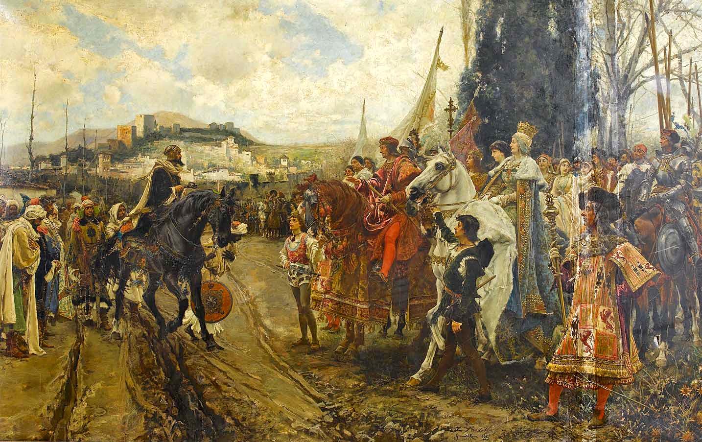 Kapitulation von Granada 1492