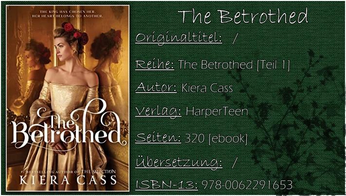 The Betrothed von Kiera Cass | Promised in der deutschen Übersetzung