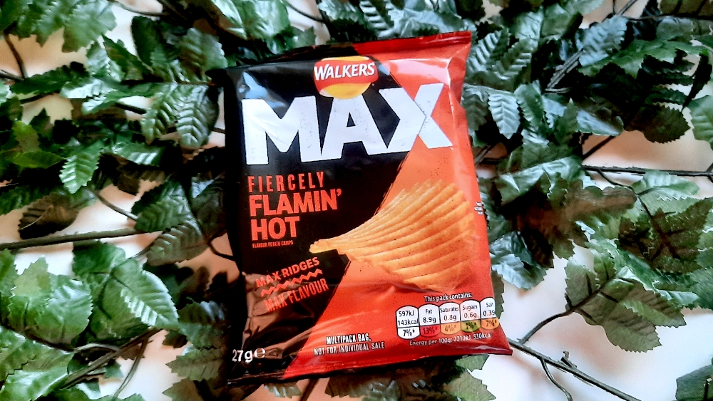 Walkers Max Fiercely Flamin' Hot
