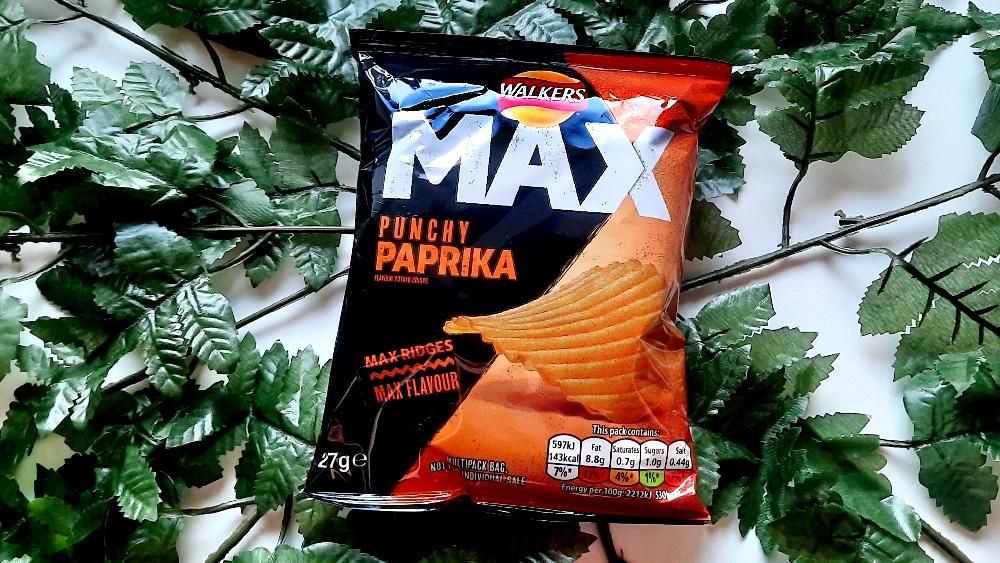 Walkers Max Punchy Paprika