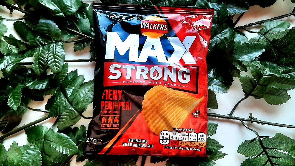 Walkers Max Strong Fiery Peri-Peri