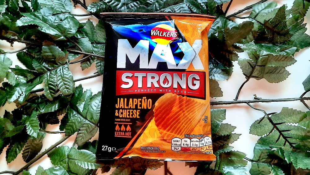 Walkers Max Strong Jalapeño & Cheese