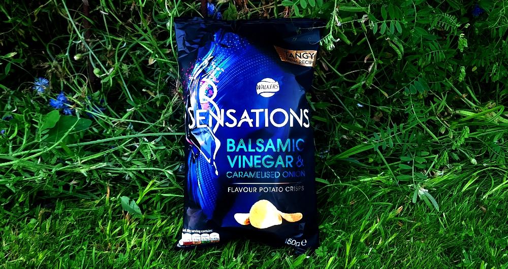 Walkers Sensation Balsamic Vinegar & Caramelised Onion