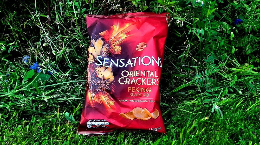 Walkers Sensation Oriental Crackers Peking Spare Ribs