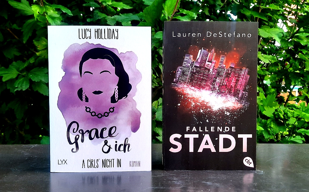 A Girls' Night in 03 - Grace & ich von Lucy Holliday & Die Chroniken der fallenden Stadt 01 - Fallende Stadt von Lauren DeStefano