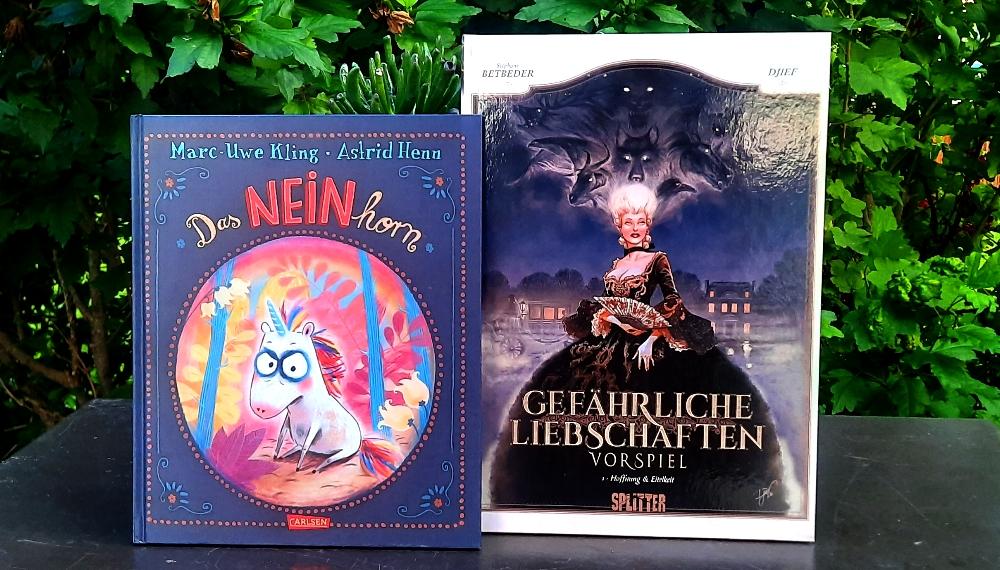 Das NEINhorn von Marc-Uwe Kling und Astrid Henn & Gefährliche Liebschaften. Vorspiel - Hoffnung & Zukunft von Betbeder