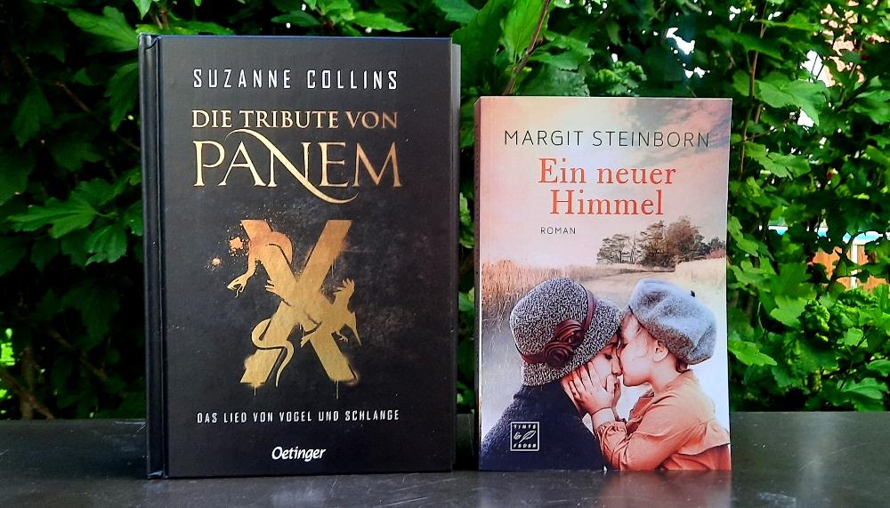 Die Tribute von Panem X - Das Lied von Vogel und Schlange & Ein neuer Himmel von Margit Steinborn