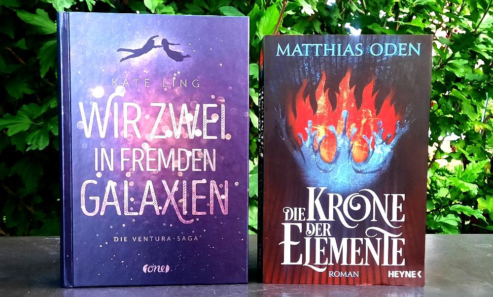 Die Ventura-Saga 01 - Wir zwei in fremden Galaxien von Kate Ling & Die Krone der Elemente von Matthias Oden