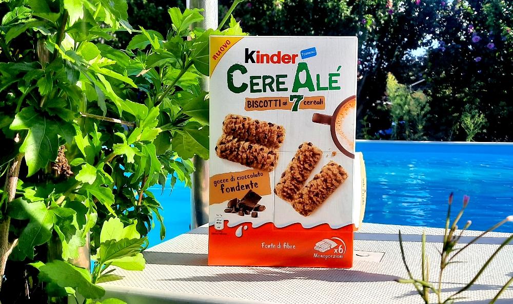 Ferrero Kinder CereAlé Biscotti ai 7 cereali gocce di cioccolato fondente