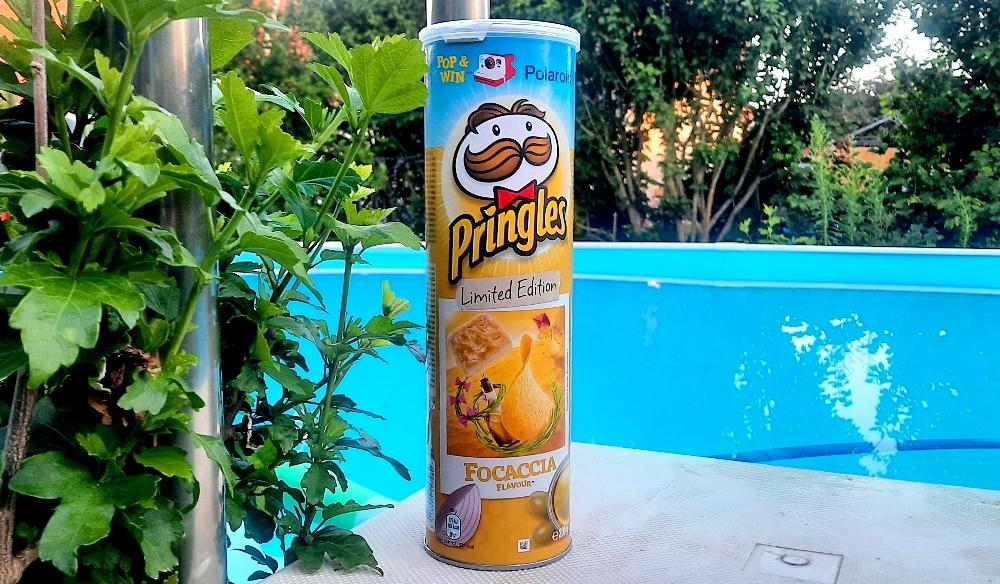 Pringles Focaccia Limited Edition
