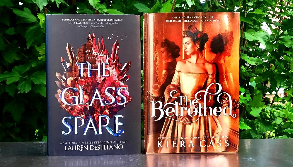 The Glass Spare von Lauren DeStefano & The Betrothed von Kiera Cass