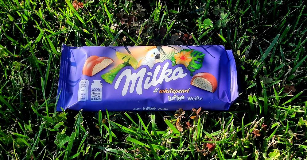Milka Luflée Weiße #whitepearl