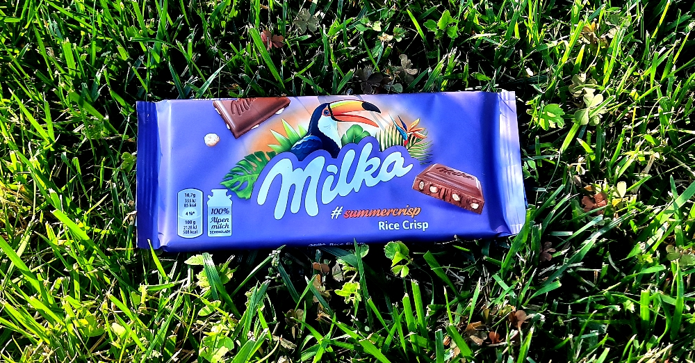 Milka Rice Crisp #summercrisp
