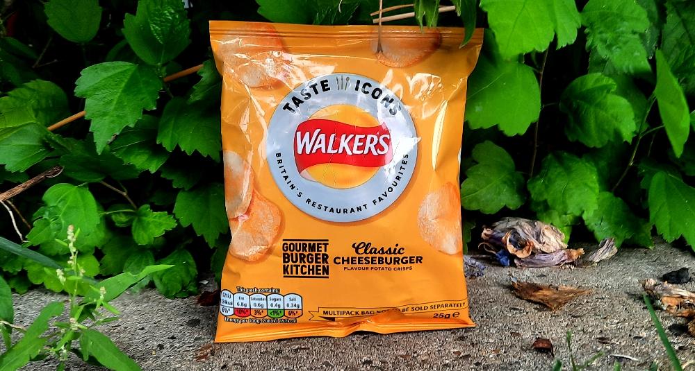 Walkers Taste Icons Gourmet Burger Kitchen Classic Cheeseburger