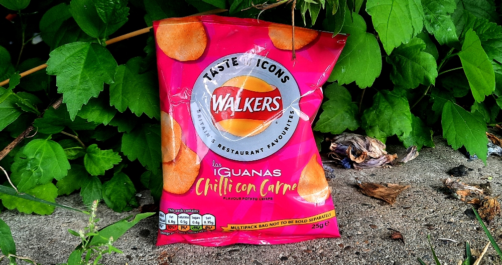 Walkers Taste Icons las Iguanas Chilli con Carne